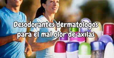 Desodorante dermatológico para mal olor