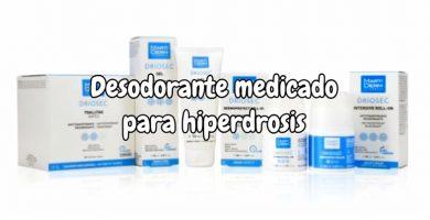 Desodorante medicado para hiperhidrosis - Desodorantes para no sudar