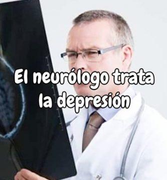 El neurólogo trata la depresión