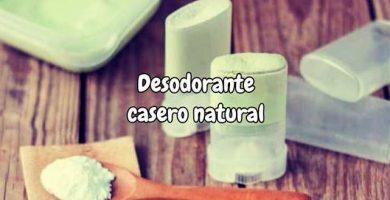 desodorante natural casero para axilas