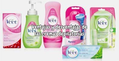Crema depilatoria ventajas y desventajas