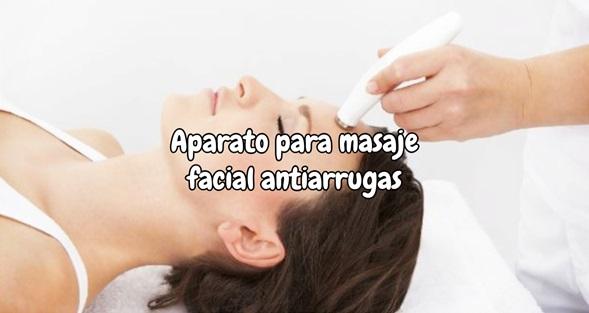 Aparato para masaje facial antiarrugas