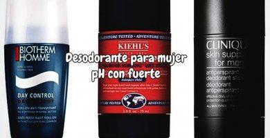 Desodorante para mujer pH fuerte