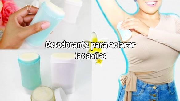 Qué desodorante sirve para aclarar las axilas