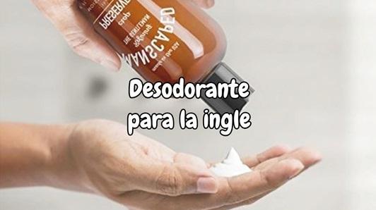 Desodorante para la ingle